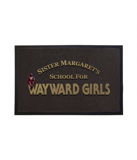 Sister Margarets School For Wayward Girls Bar Welcome Mat Doormat from Deadpool